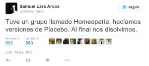 chiste Homeopatía