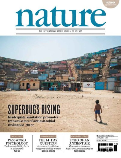 Superbugs Rising Nature Cover